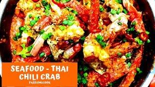 Thai Chili Crab | Singapore -Indian style
