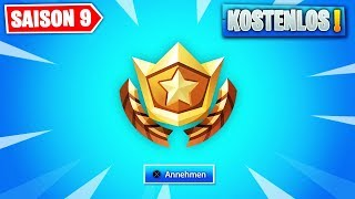 SEASON 9 BATTLE PASS FREE GET (GIFT) | FORTNITE: BATTLE ROYALE