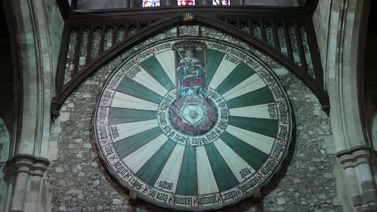 King Arthuru0027s Round Table, Winchester, England