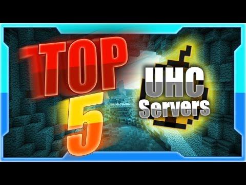 Top Five Minecraft UHC Servers