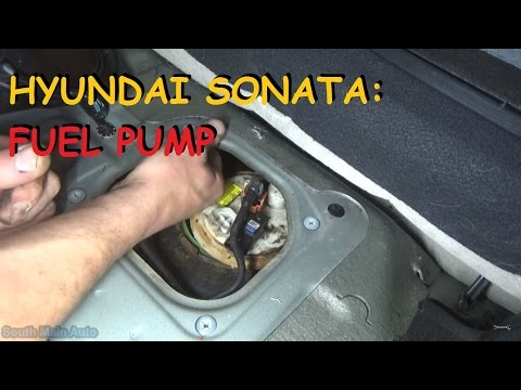 fuel pump 04 09 hyundai sonata remove replace install 39 how to 39 funnycat tv. Black Bedroom Furniture Sets. Home Design Ideas