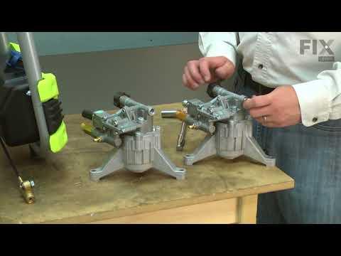Ryobi Pressure Washer Repair - How to Replace the Pump