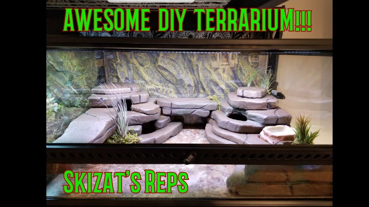 Diy Leopard Gecko Terrarium Awesome Youtube