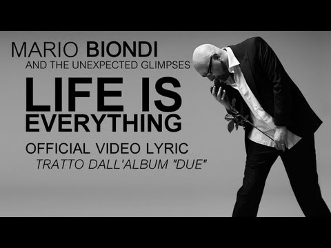 "Mario Biondi ft. Wendy Lewis - Life is everything - Official Video Lyric da ""Due"""