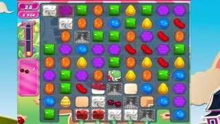 Candy Crush Saga Level 744  - HARD LEVEL!