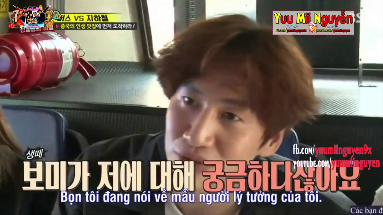 《FUNNY》 Running Man EP 344   LEE KWANG SOO BỊ PD CHẶN NGANG KHI TRẢ LỜI CÂU HỎI CỦA BO MI