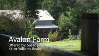 Horse Farm for Sale Lake Norman Area - Avalon Farm 166 Fair Oaks Lane Stony Point NC 28678