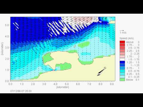 Hydrosoft SA: MIKE3-NH modeling of tidal currents around Cacouna-LNG project harbor