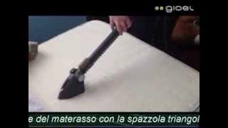 pulire il materasso