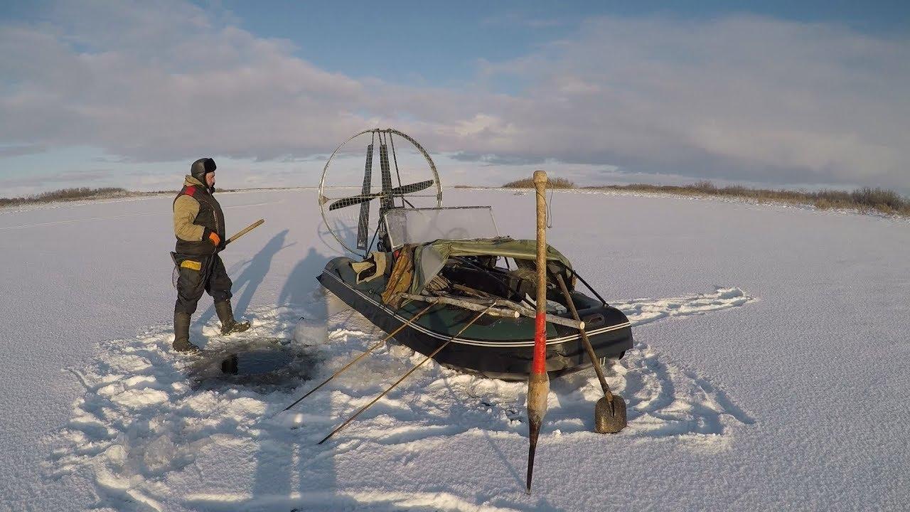 Зимняя рыбалка 2019. Крайний Север. НАО.