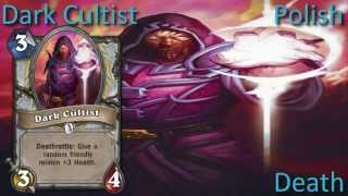 Dark Cultist card sounds in 12 languages -Hearthstone✔