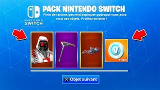 "HOW TO ""THE PACK of SKIN"" NINTENDO SWITCH on FORTNITE Battle Royale! 😱 (SAISON 6)"