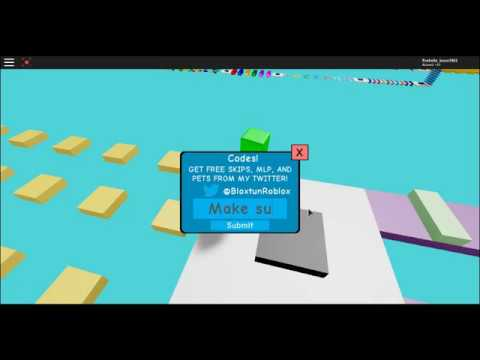 All Roblox Mega Fun Obby Codes Free Roblox Injector Request A Test