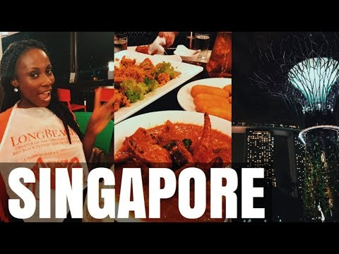SINGAPORE TRAVEL VLOG  THINGS TO DO, WHERE TO EAT   SASSY FUNKE