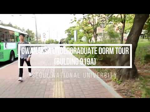 Seoul National University Undergraduate Dorm Tour