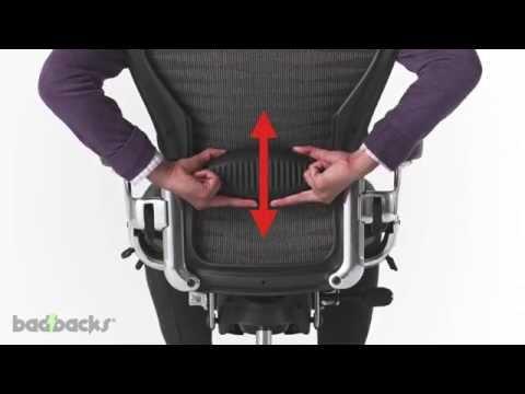 Herman Miller Aeron Chair Adjusting Guide