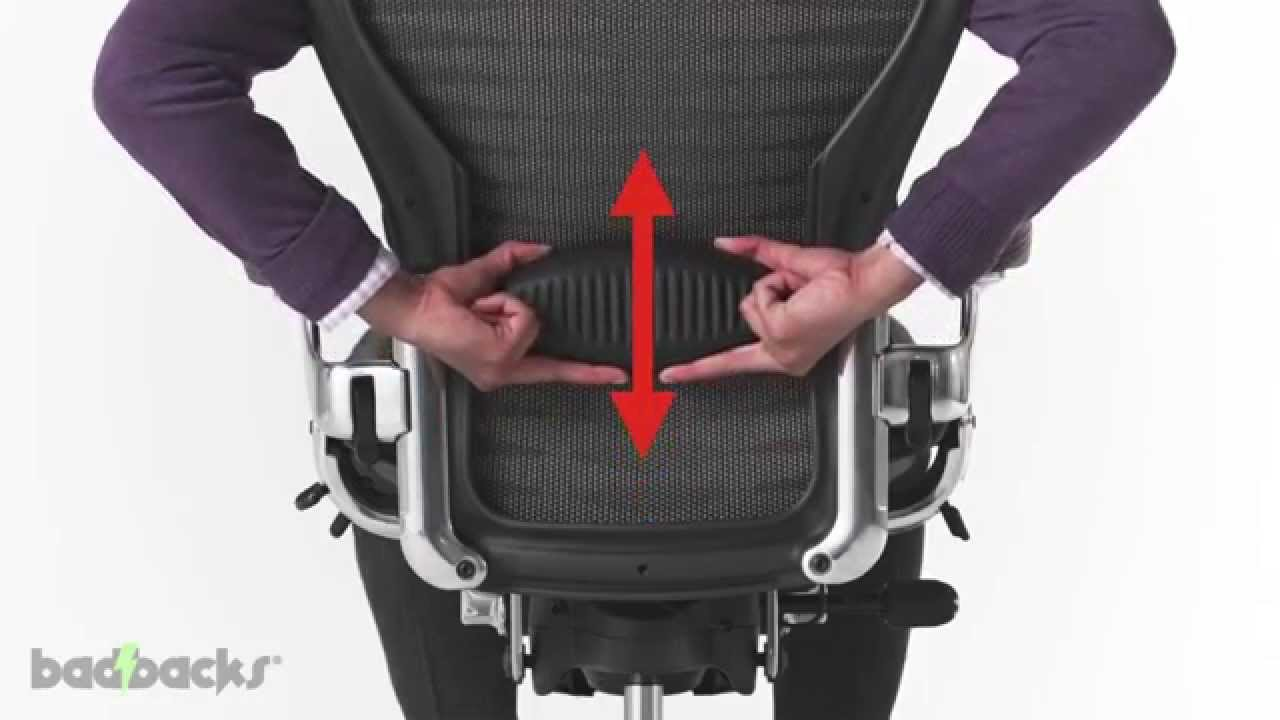 Aeron Chair Herman Miller Manual Baby Sit And Play Adjusting Guide - Youtube
