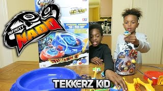 tekkerz kid vs it s romello infinity nado challenge ad