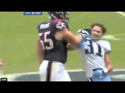 Football Fight: Andre Johnson vs. Cortland Finnegan Titans vs. Texans