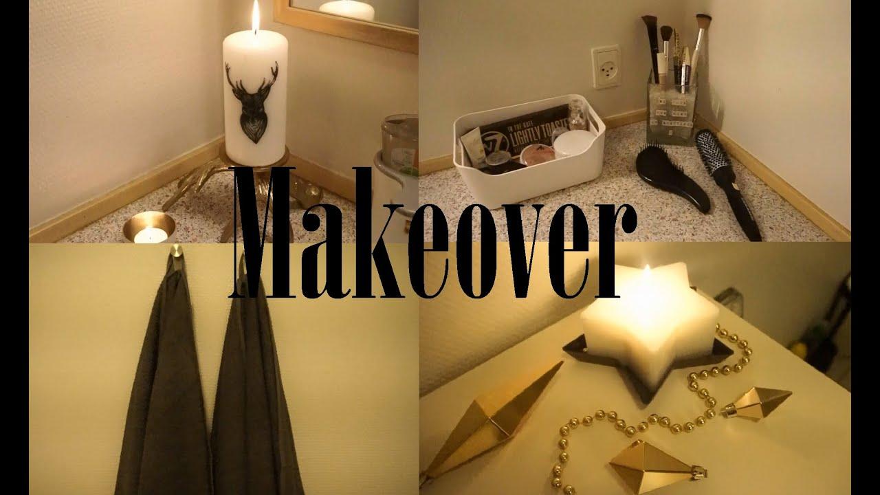 Badeværelses makeover! upcomming giveaway :)   youtube