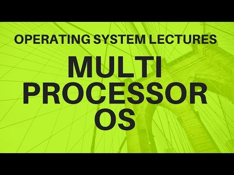 Video 5 :-Types of OS Multi-Processor Operating System
