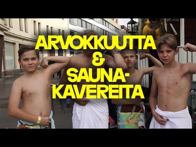 Arvokkuutta ja saunakavereita | Gutsy Go Oulu Metsokangas