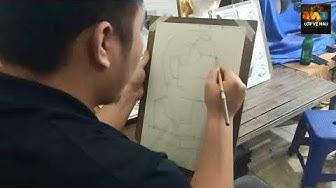 Hướng dẫn vẽ tượng Thạch cao