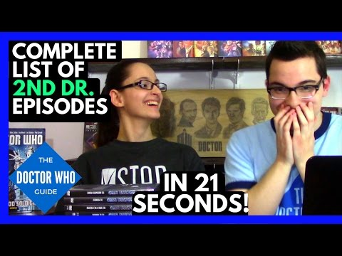 List of Doctor Who Episodes - 2nd Dr Edition & My Sister's Favorite 2nd Dr Story!