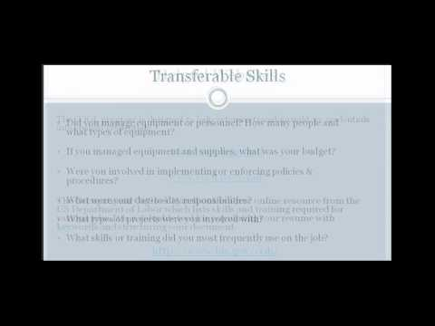 Military to Civilian Transition | Showing Transferable Skills in Resumes