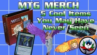 MTG – Top 5 Coolest/Weirdest Magic: The Gathering Products & Items!