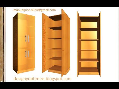 Crear una alacena estante mueble para la cocina youtube for Alacenas para cocina