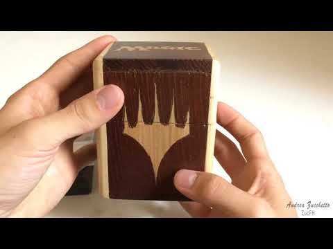 Magic The Gathering - Hand-made wooden DeckBox