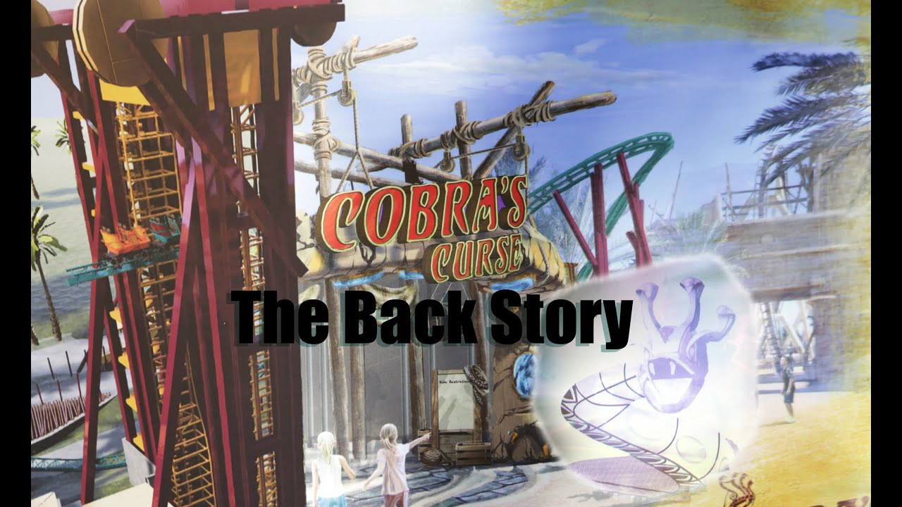 The story of cobra 39 s curse at busch gardens tampa family spin coaster youtube for Busch gardens tampa bay cobra s curse