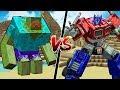 MINECRAFT TRANSFORMERS vs MUTANT CREATURES!!