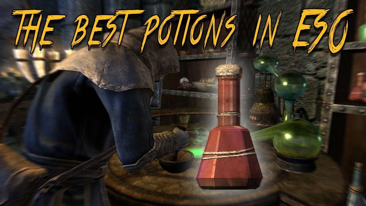 Eso quick slot potion recipe