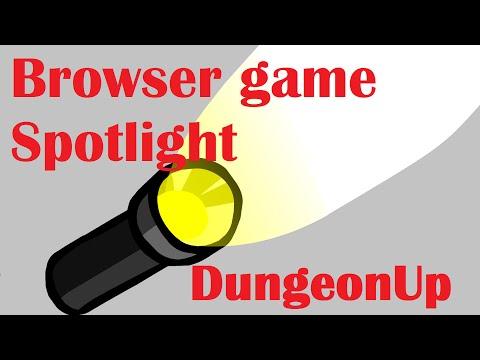 Browser game spotlight : DungeonUp  