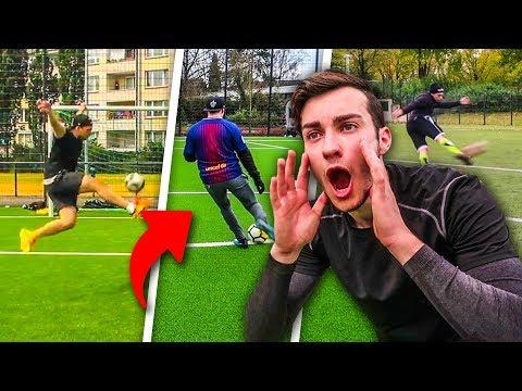 SCHWIERIGSTE TORE NACHSTELLEN FUßBALL CHALLENGE !