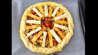 Bu Kahvaltılık Tarife Bayılacaksınız Bütün Süpriz İçinde Patatesli Pizza Börek👉🏻BERA TATLİDUNYASİ