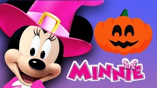 Minnie Mouse Clubhouse - Disney Junior Color & Play Halloween Pumpkin Decorating Educational Game