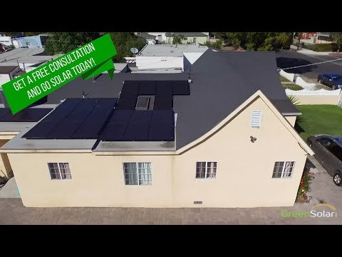 Solar Panel Installation with Green Solar Technologies
