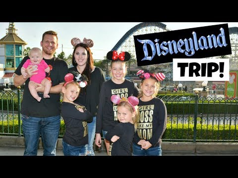 Download Youtube: SURPRISING THE GIRLS WITH A FUN TRIP TO DISNEYLAND! FAMILY VLOG