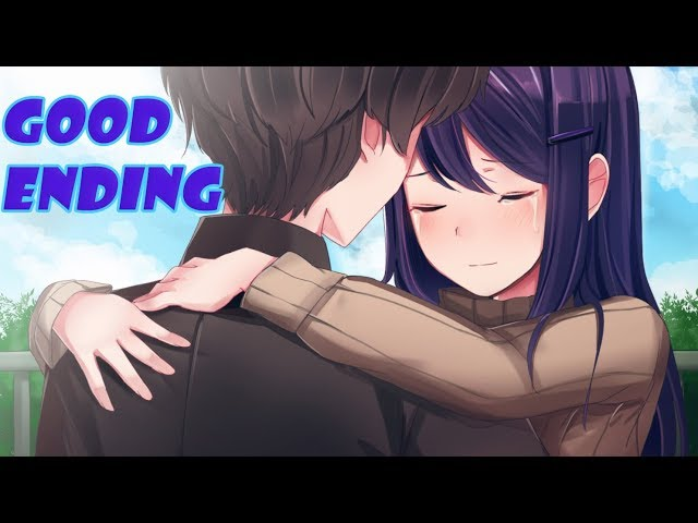 YURIS HAPPY ENDING!!!!(Doki Doki Purist Mod#6/YURI ROUTE) {GOOD ENDING}