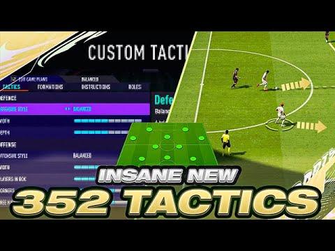Download BEST FIFA 21 ATTACKING 352 PRO CUSTOM TACTICS + INSTRUCTIONS! BEST FIFA 21 CUSTOM TACTICS