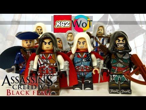 Китайское Lego Assassins Creed KSZ316 Коллекция