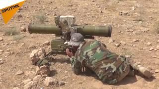بالفيديو...الجيش السوري يقترب من بلدة عقيربات في ريف حماة الشرقي