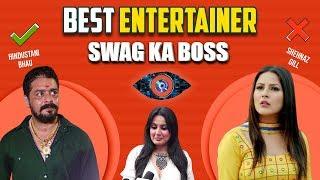 Hindustani Bhau Is Best Entertainer - Kamya Punjabi   Bigg Boss 13   Swag Ka Boss   ShowBox