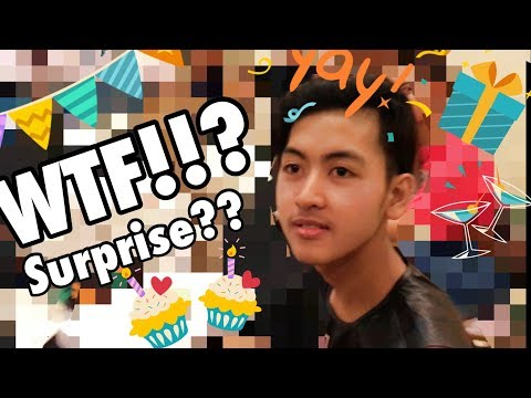 THEY SURPRISED ME! AT MY 17TH BIRTHDAY CELEBRATION! //VLOG 1//