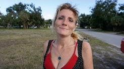 Homeless in Titusville, Florida Valerie Rocks