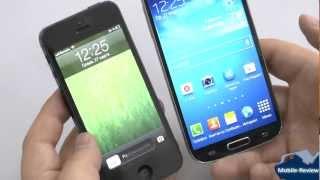 Samsung Galaxy S IV vs iPhone 5