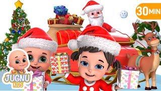 Jingle Bells Jingle Bells | Christmas Music & Songs for Kids | Nursery Rhymes by Jugnu Kids